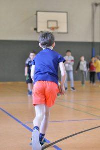 Sport und Bewegung in der Turnhalle