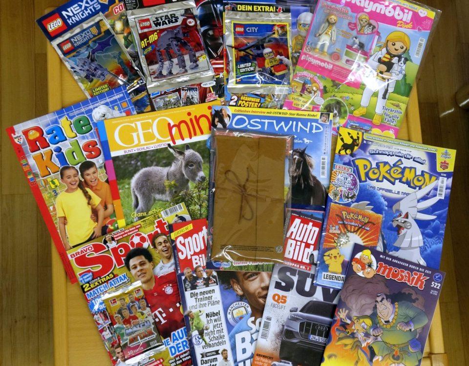 Neue Zeitschriften für den Medien Planeten